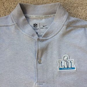 f0c2686f239 Nike Shirts | Mens Super Bowl Lii Bound Media Night Polo | Poshmark